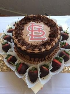 cardinal cake