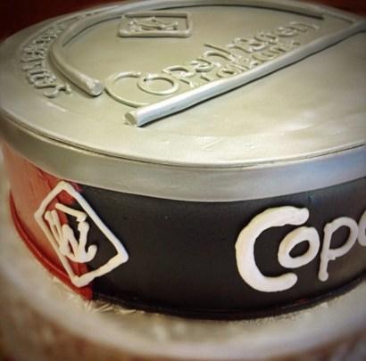 copenhagen grooms cake
