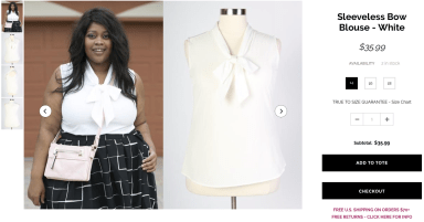 Love this Bow Blouse in White and can think of a million outfits that I would wear this with.