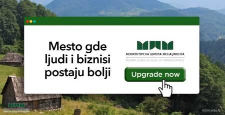 Profesionalni smerovi • Mokrogorska škola menadžmenta