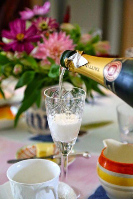 Edwardian glass, David Herbert's secret tea party