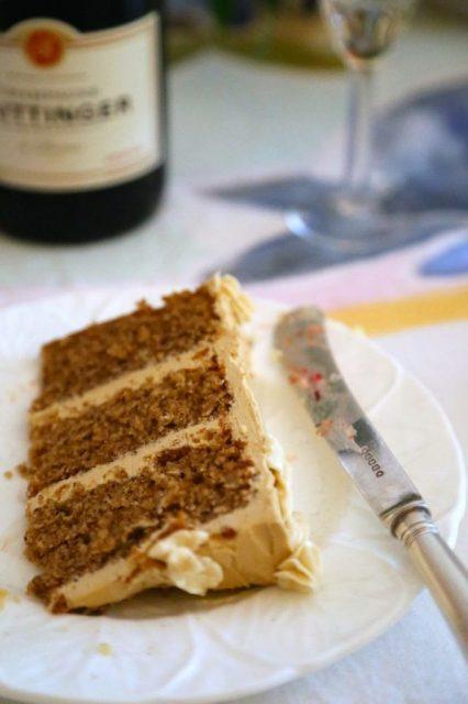 slice of cake David Herbert's secret tea party