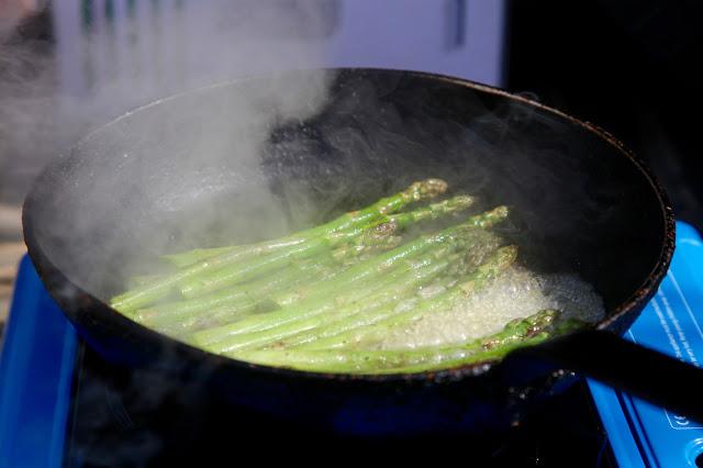English asparagus, Kent