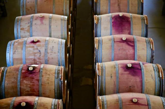 port and wine barrels, douro, portugal