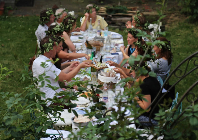 3rd annual Swedish midsummer supper club with msmarmitelover and Linn Soderstrom in London