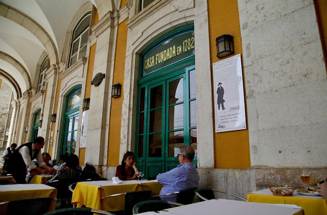 Martinho Da Arcada,, Lisbon, Portugal:  Pic: Keratin Rodgers/msmarmitelover