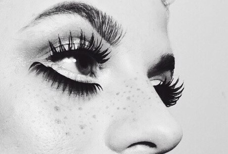 Vsco, Portrait, Beauty, Twiggy, Honne, Lashes, Fashion, Editorial