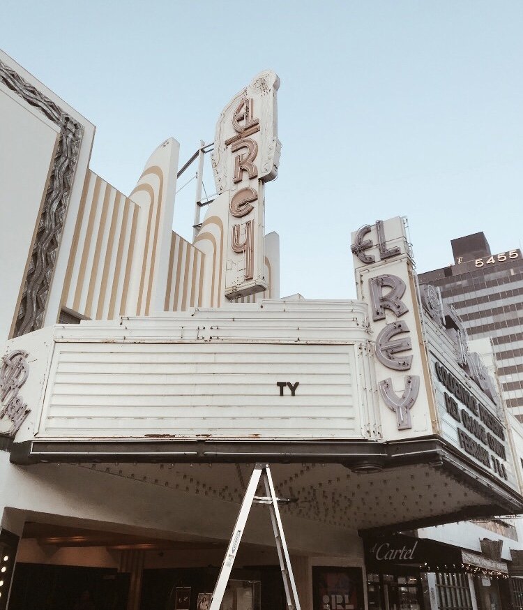 Entrepreneur, Forbes,el rey, hollywood theaters, vintage theaters, old hollywood aesthetic, pastel colors, thank you