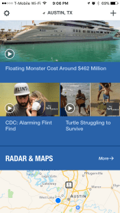 Seriously Weather.com? Turtles next to Flint? Why?