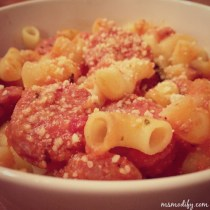 vodka sausage pasta