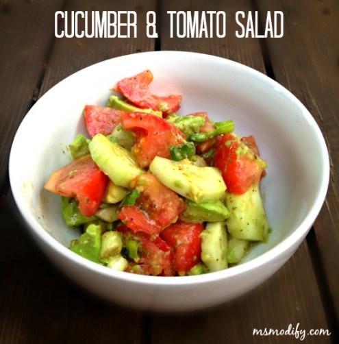 cucumberTomatoSalad