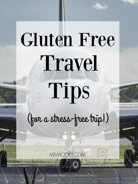 gluten free travel tips