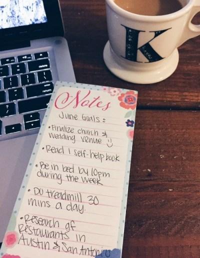 June Life Goals