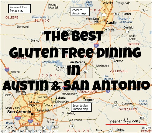 Best Gluten Free Dining in Austin & San Antonio