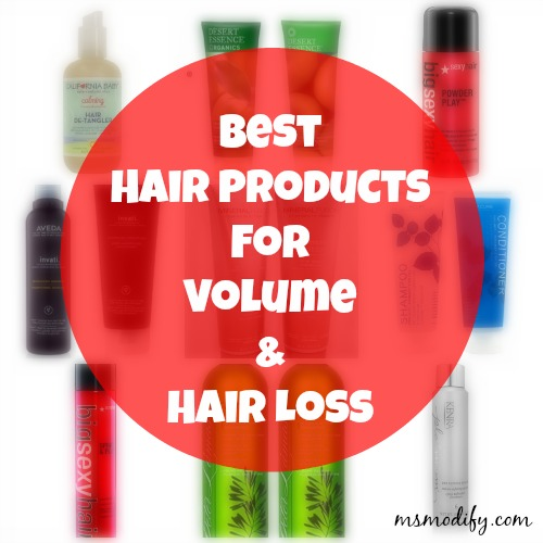 Best hair products for hair loss and volume