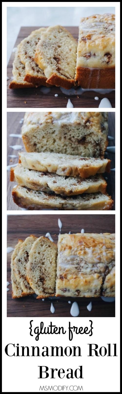 gluten free cinnamon roll bread