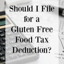 gluten free tax deduction