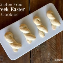 gluten free Greek Easter Cookies