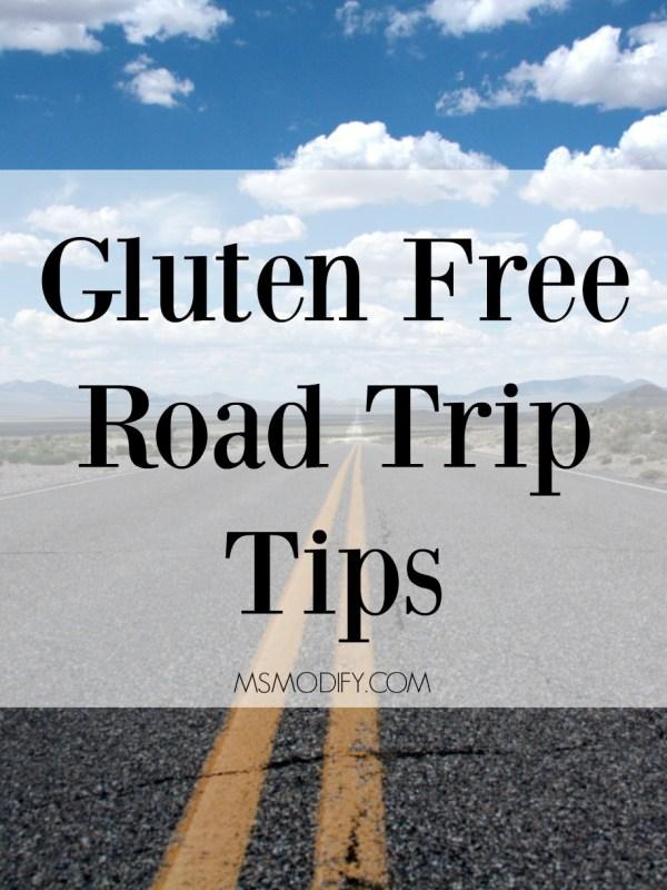 gluten free road trip tips