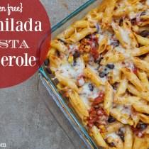 gluten free enchilada pasta casserole