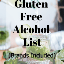 gluten free alcohol list