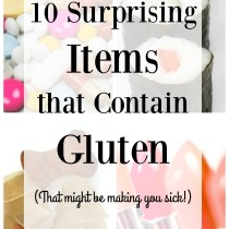 10 Surprising Item that Containing Gluten