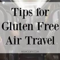 Tips for Gluten Free Air Travel