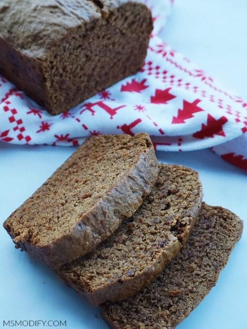 Gluten Free Gingerbread Loaf