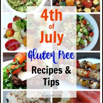 4th of July Gluten Free Recipes and Tips