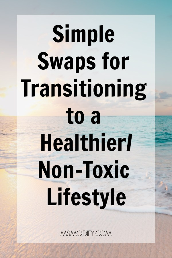 Simple Swaps for Transitioning to a Healthier Lifestyle