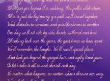 realistic wedding poem ms moem @MsMoem aka Amy @iwantapoem ...