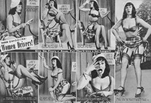 cure for kink BDSM is common Betty Page