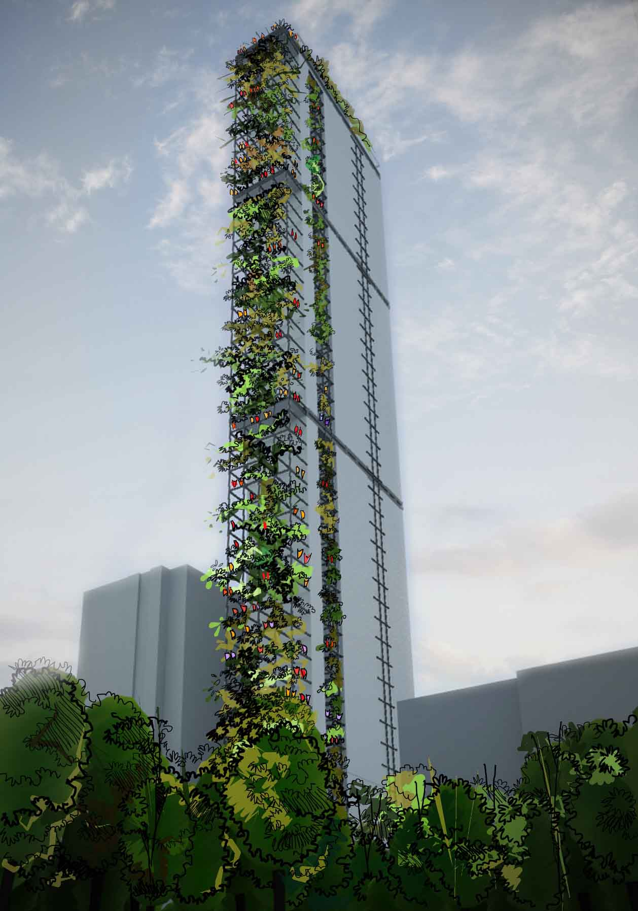Proposed High Rise Building Colombo MSN