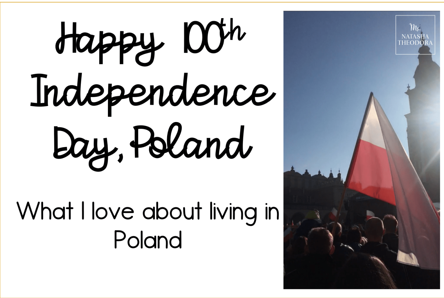Happy Polish Independence Day!