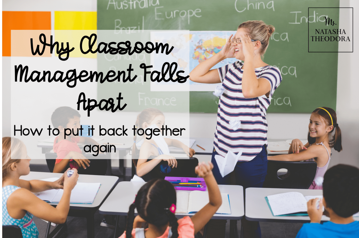 Why Classroom Management Falls Apart