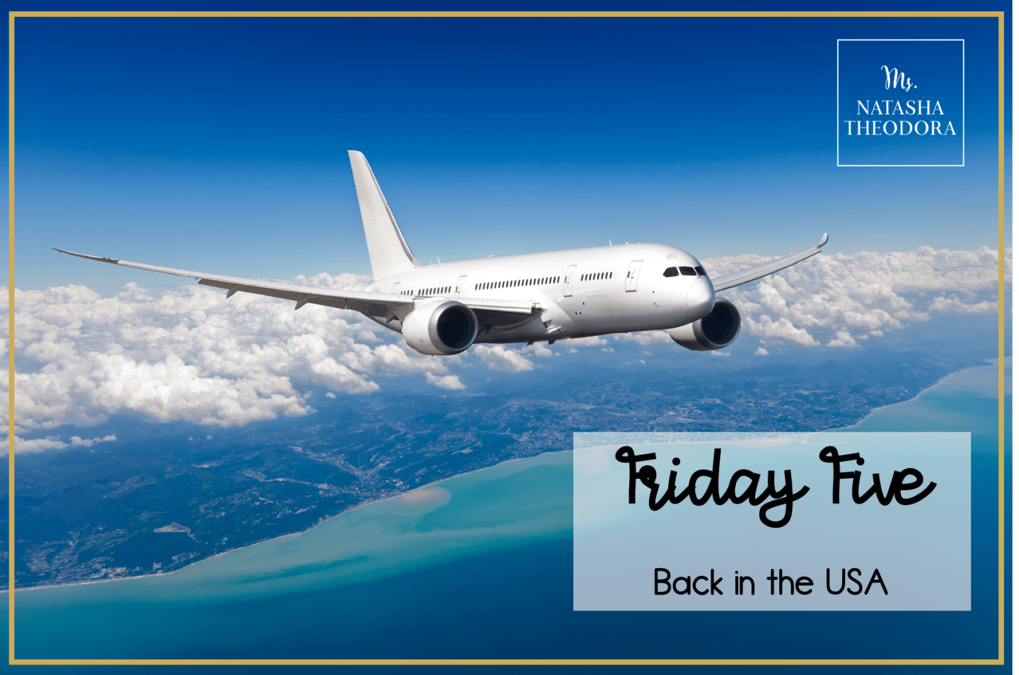 Friday Five: Back in the USA