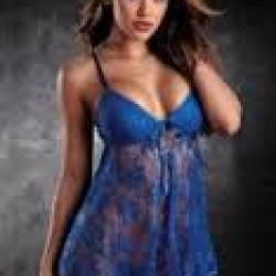 blue negligee