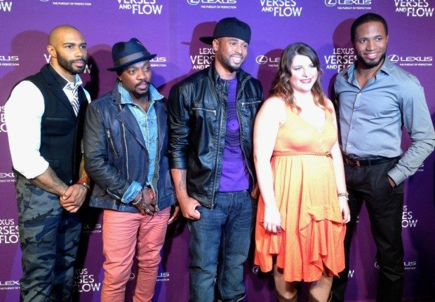 Anthony Hamilton Omari Hardwick Megan Falley Marshall Jones and Prentice
