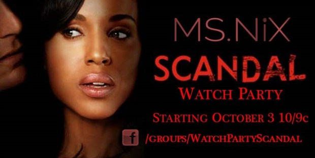 Scandal Watch Party Promo