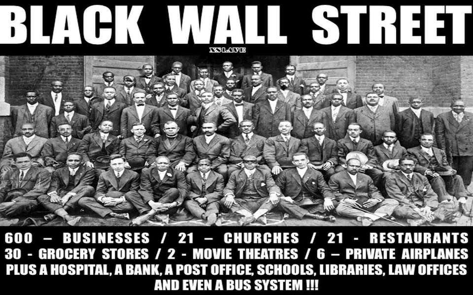 #Black History Month 2014: Fallen, Not Forgotten: Black Wall Street