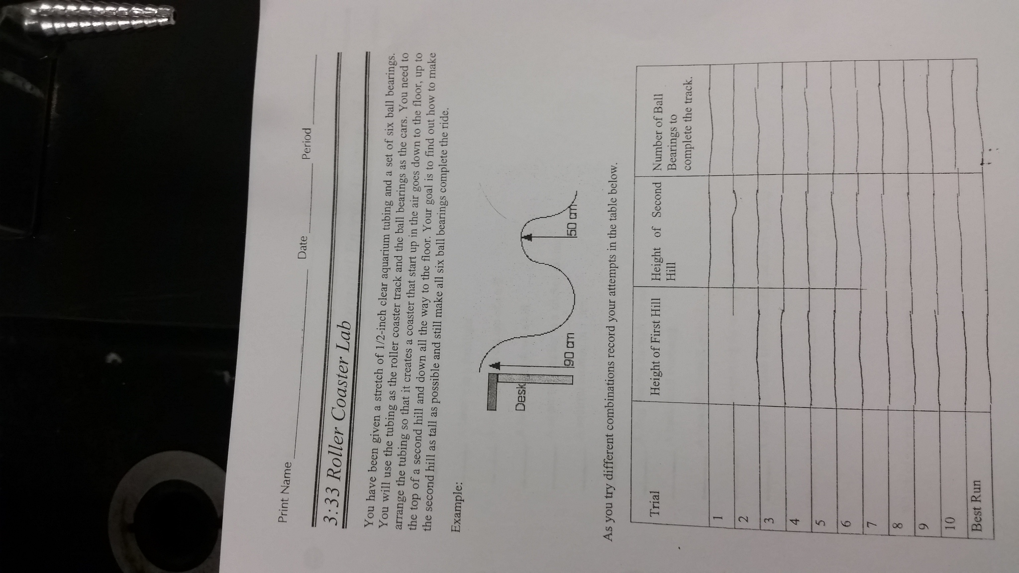 3rd Quarter Assignments