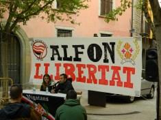 Acto previo en reivindicación de la libertad de Alfon