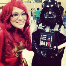 Me with little Darth Vader