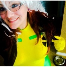 Me as Rogue! Still not finished on this one!
