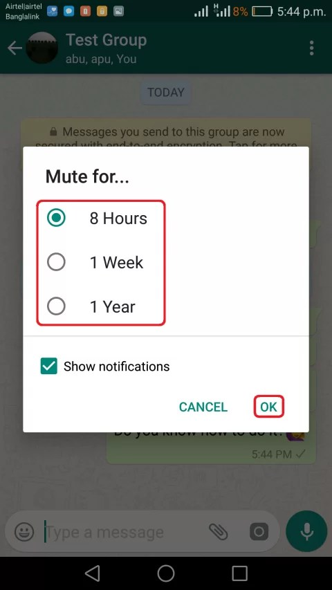 img2 mute or turn off a whatsapp gorup notificaiton on android and iphone