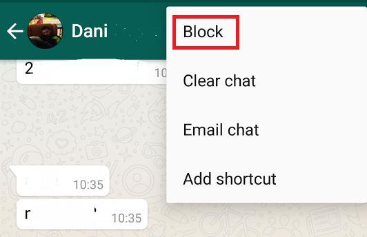 second method to delete unread whatsapp messages
