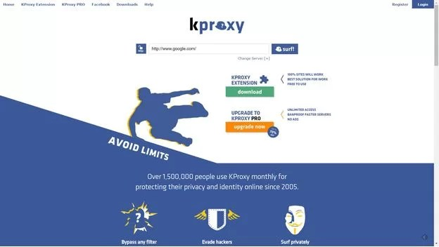 kproxy best free proxy 2017