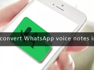 Transcriber to convert whatsapp voice notes to text