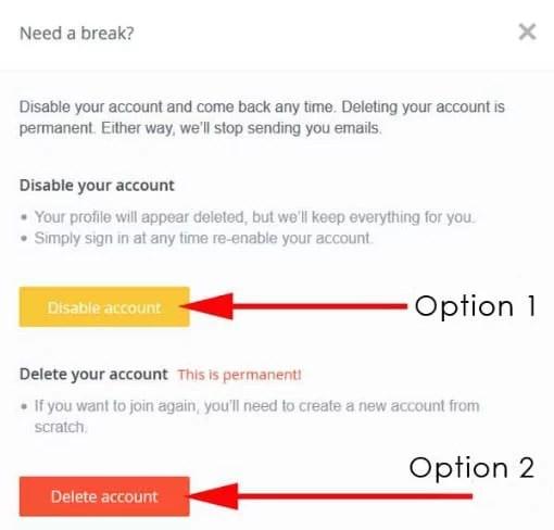 how to delete OkCupid account