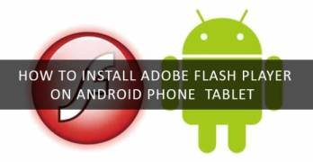 install adobe flash player on android